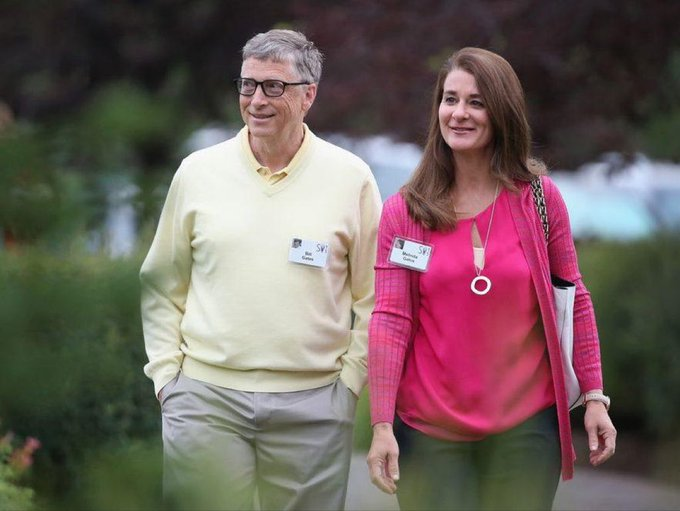 Bill and Melinda Gates say they're ending their marriage